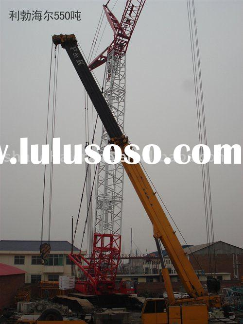 Liebherr LR1550 550 ton used crawler crane HOT SALE REDUCED PRICE IN excellent working condition
