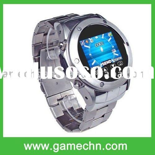 MQ888 Unlocked GSM Mobile Watch Phone Touch Screen MP3