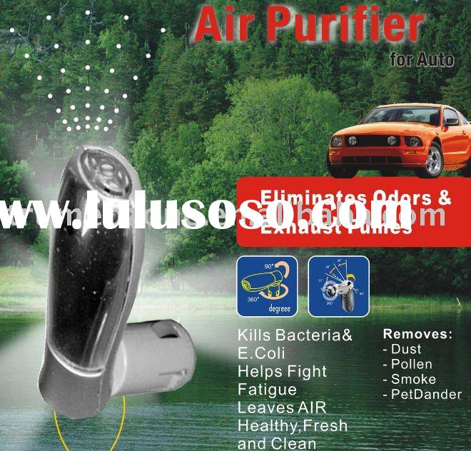 Mini Ionic Car Air Purifier for Removing Odor and Dust in the car