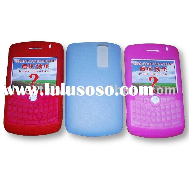 Mobile Phone case with keypad for Blackberry 8300/Silicone skin cover for Blackberry 8300/cell phone