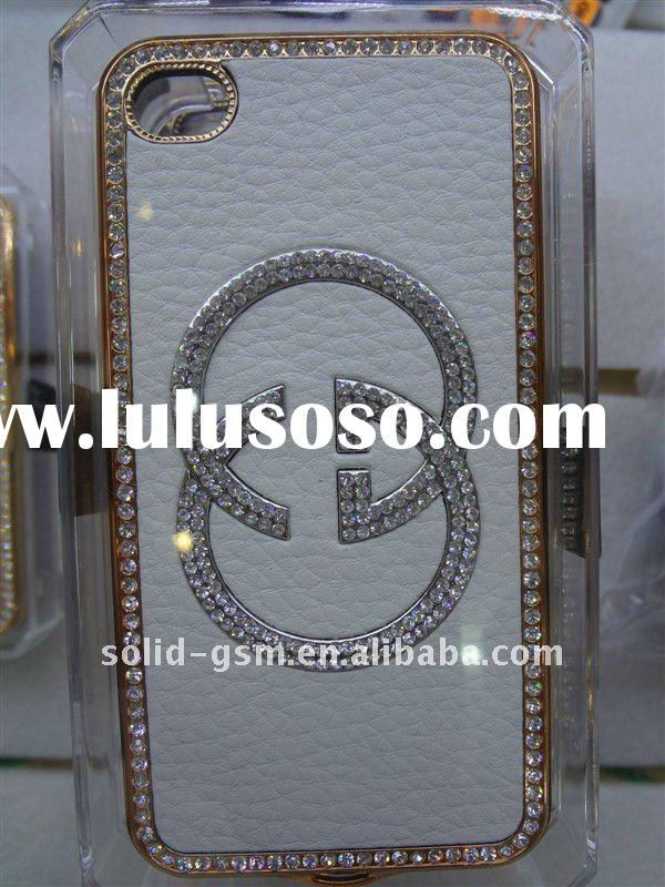 NG007 luxury leather casesfor iphone 4