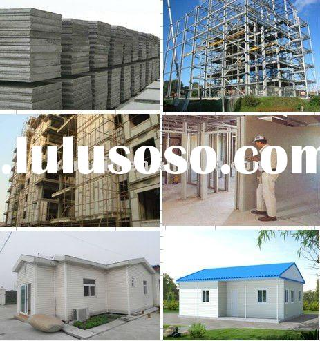 New Building Material, Eco-friendly Energy-saving Fiber Cement Board