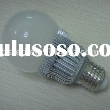 Newest design 5.5w LED bulb lighting with E27/E26 base
