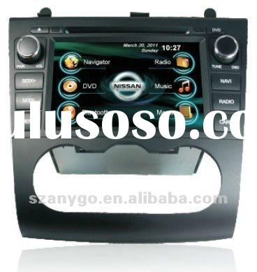 Newest for Nissan Altima Car GPS DVD Player option Camera digital TV