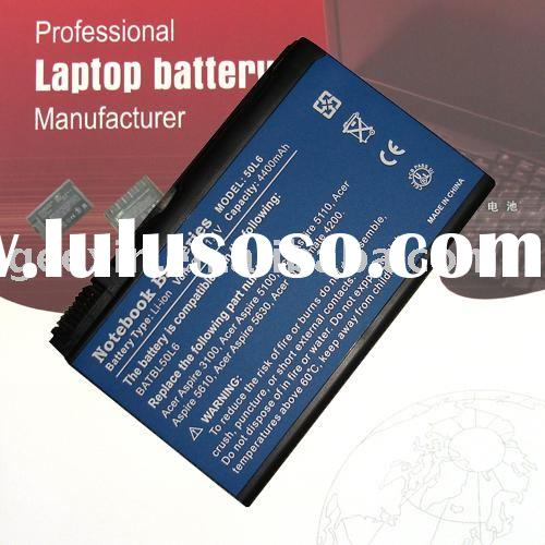 Notebook battery for Acer Travelmate 4200 4202/WLMi 4203 BATBL50L6 with 6 cells 4400mAh