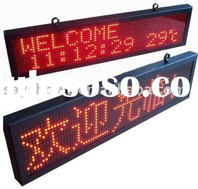 P10 LED moving message display,LED programmable sign display board,LED sign programmable