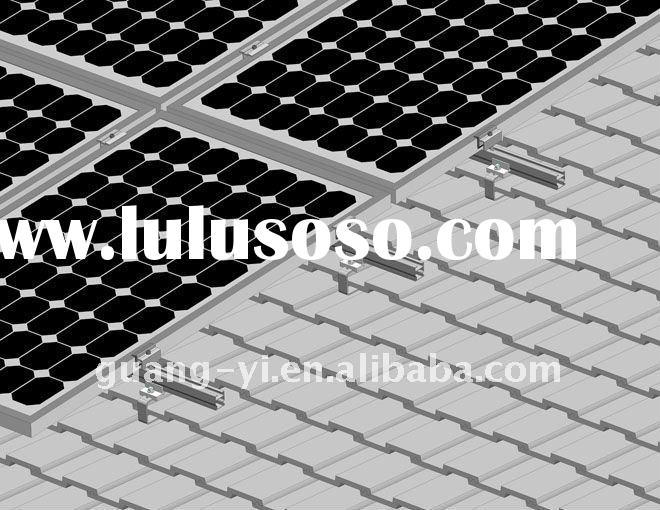 Pitched Roof Mounting System for Solar Panel System
