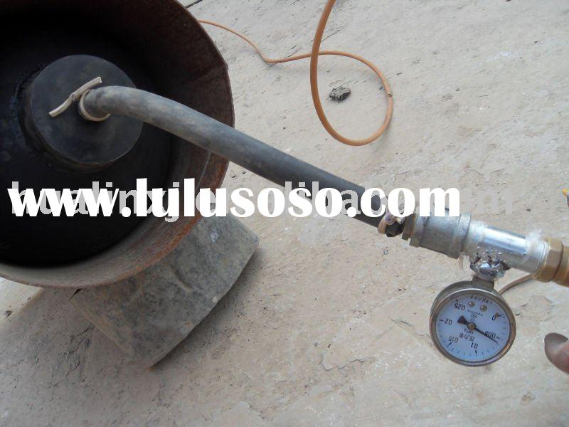 Pneumatic cylinder for water ,gas pipeline test