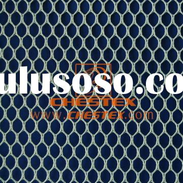 Polyester Tricot Mesh Fabric for Garment