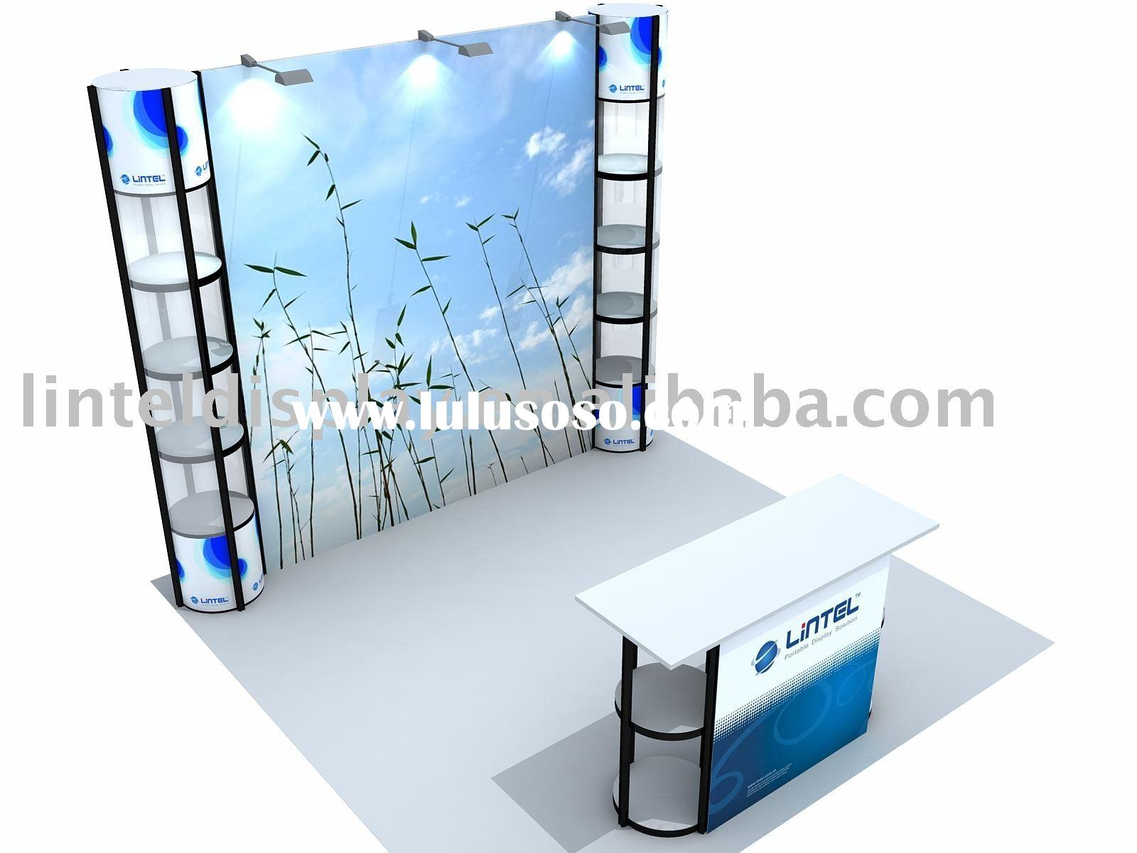 Portable Exhibition Booth Display 3*3m (LT-ZH007)