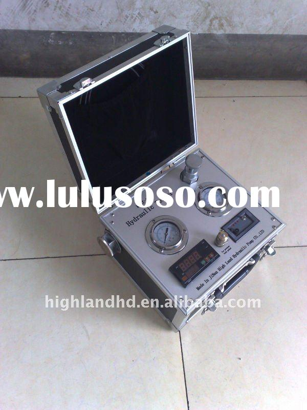 Portable Hydraulic Tester for checking discharge,pressure,temperature