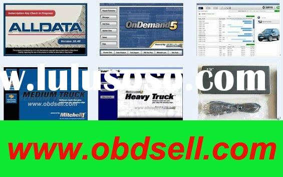 Professional alldata+mitchell on demand 2011+mitchell heavy duty and medium+vivid+ESI--free shipping