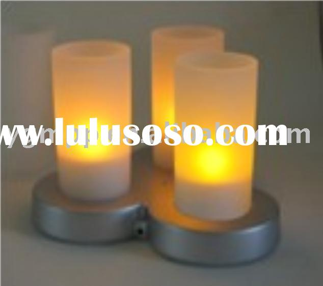 Rechargeable candle,induction rechargeable candle,Rechargeable LED Candle