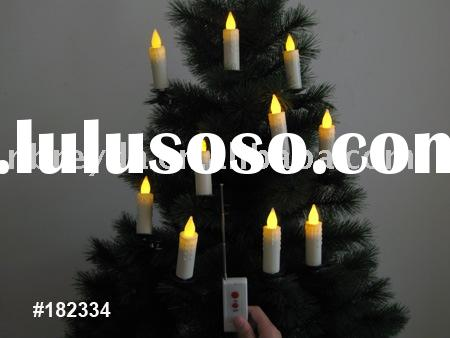 Remote Control Led Christmas Candle