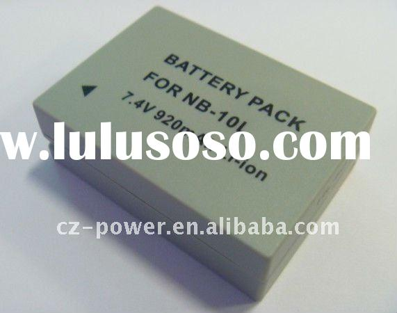 Replacement Camera Battery Pack for NB-10L NB10L CANON PowerShot SX40 HS SX40HS