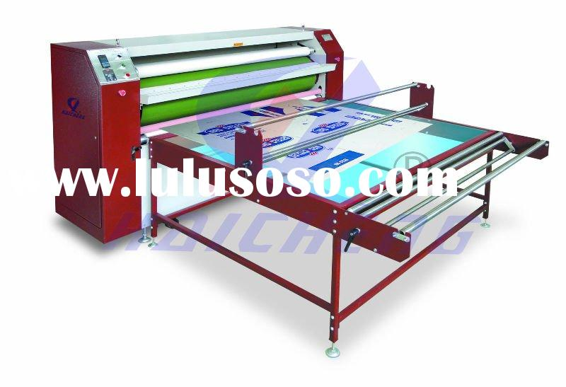 Roller Style Sublimation Heat Transfer Press Machine(OIL HEATING)