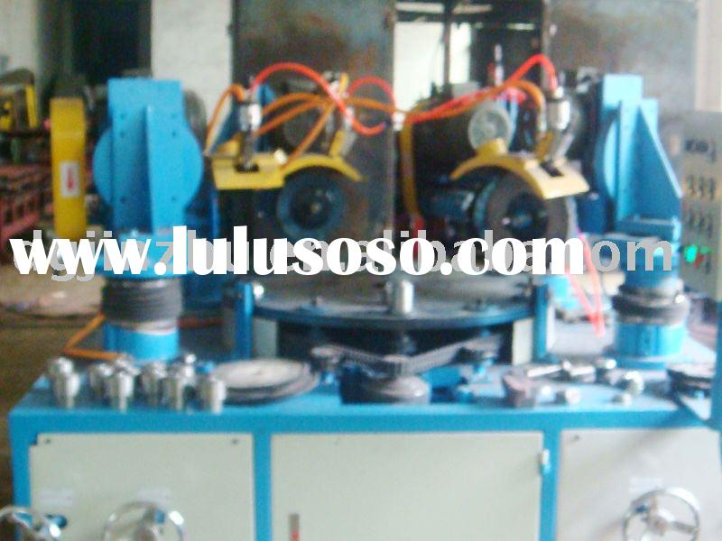 Rotary table automatic cnc buffing machine
