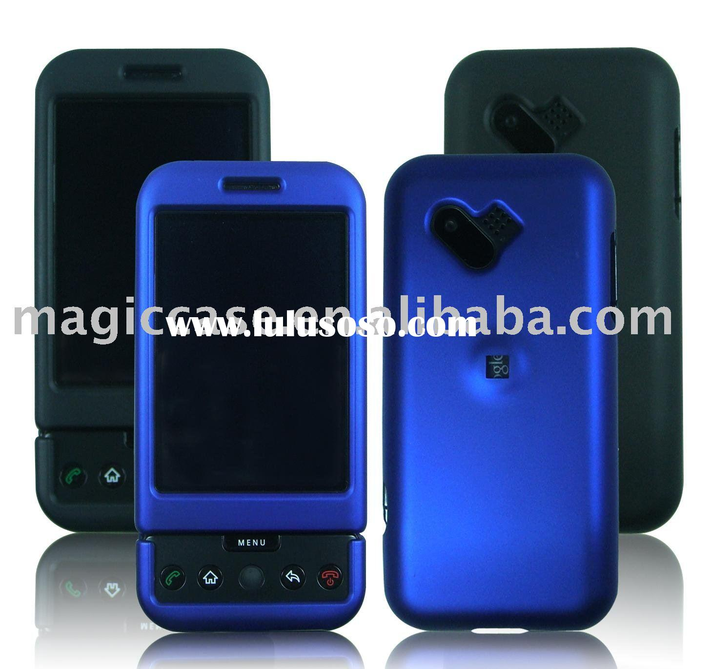 Rubberized Crystal hard cell phone cover:mobile phone housing for Google-G1