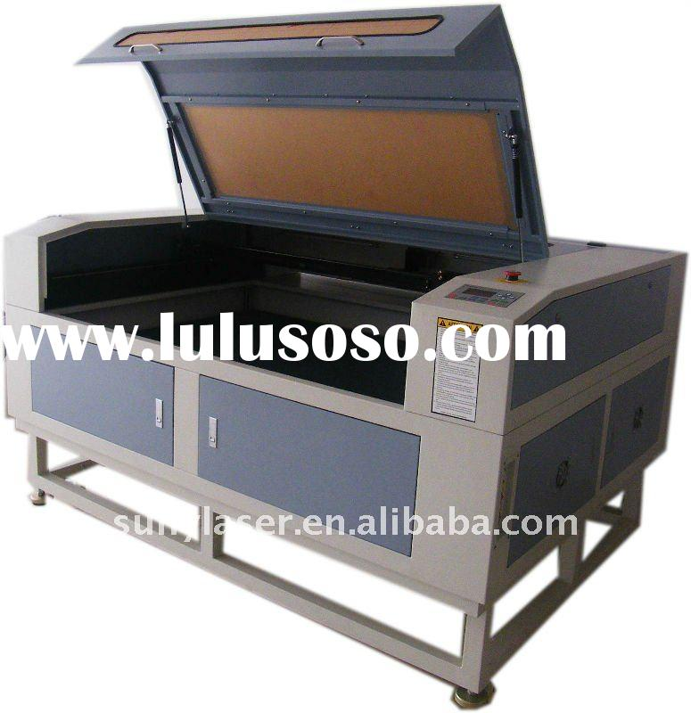 SUNY-1680 laser cutting machine for cloth,leather,fabric