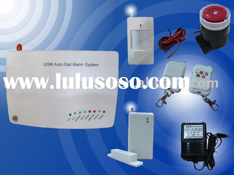 Security system of GSM alarm module