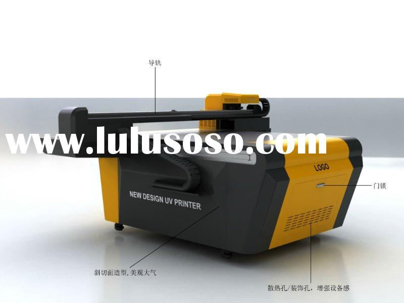 Seiko high resolution printhead uv flatbed printer for small size object printing