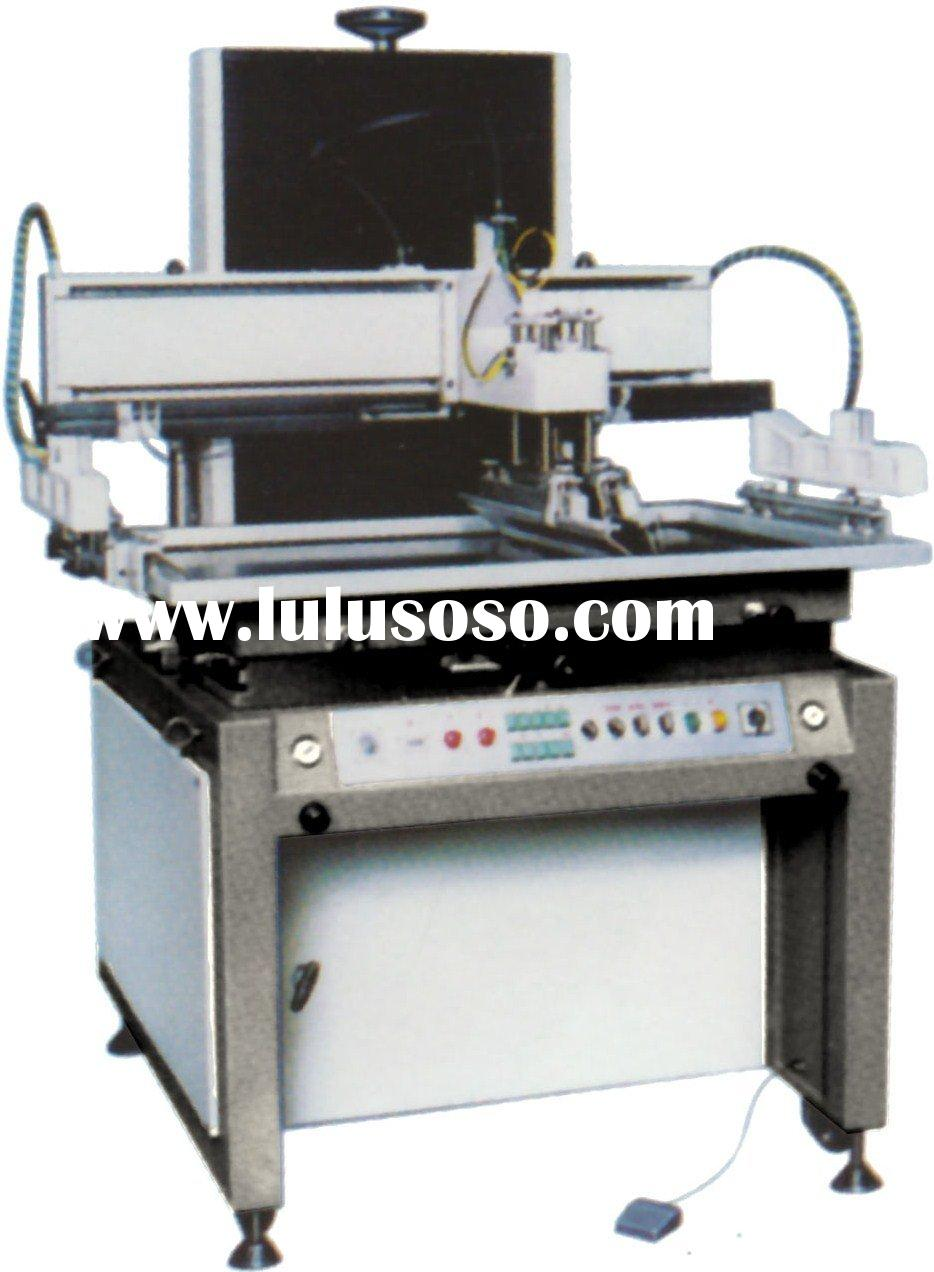 Semi Automatic Elevator Type Flat Surface Silk Screen Printing Machine