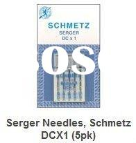Sewing machine spare parts Schmetz NEEDLE Serger Needles, Schmetz DCX1 (we offer all kinds of needle