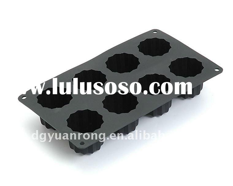 Silicone 8 Cup Flower Muffin Pan