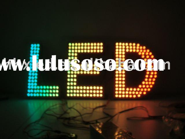 Single led Plug-in light LED lamp for led letter&led sign