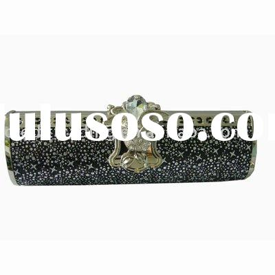 Small Unique Crystal metal classic Lady's Evening bag hard clutch