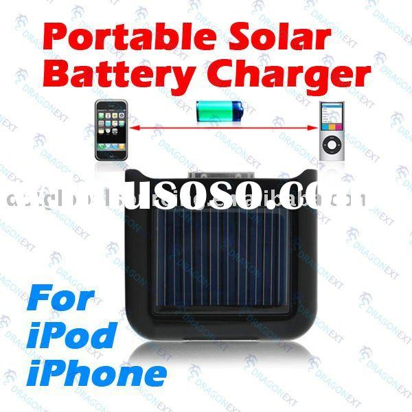 Solar High Power Emergency Battery Charger for iPhone 3G 3GS 4 4G iPod Nano Touch