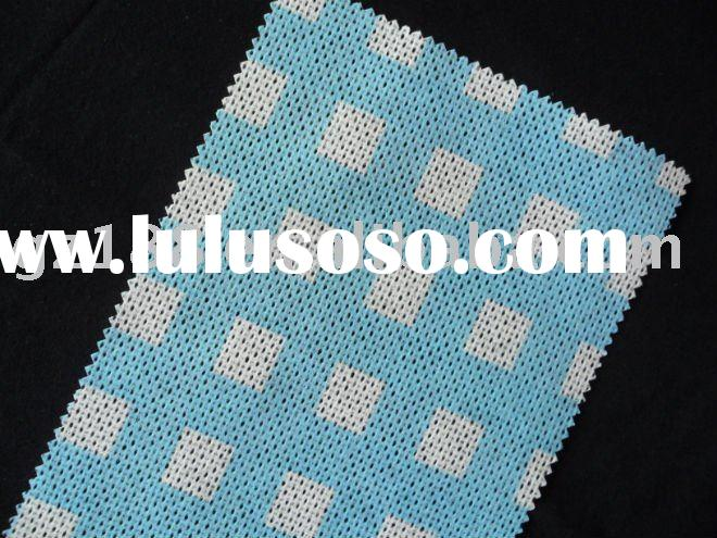 Spunlace fabric/Cellulose/polyester laminated nonwoven rolls with aperture