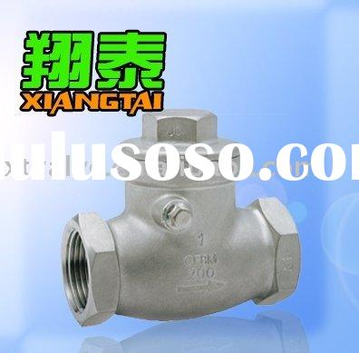 Stainless Steel Swing Check Valve,SS304 SS316,200PSI