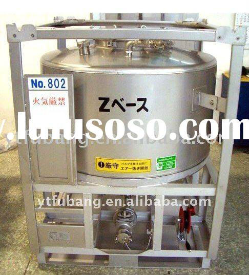 Stainless steel ibc tank/container for food grade