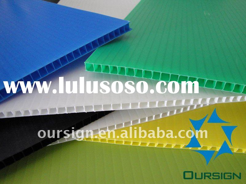 Supper Quality Corrugated PP board