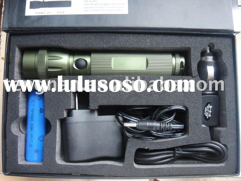 TNC-006 focusing(zoom) rechargeable creeQ4 led flashlight