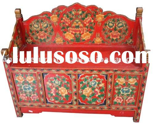 hand painted furniture tibetan style for sale price china manufacturer supplier 672646. Black Bedroom Furniture Sets. Home Design Ideas