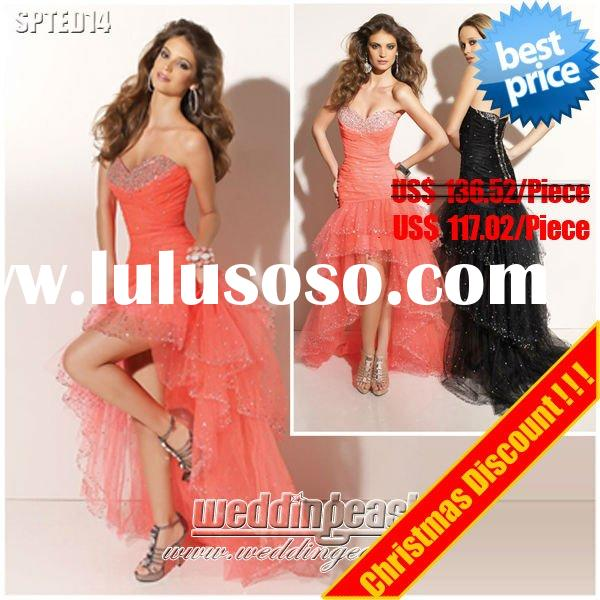 Top Quality Affordable Formal Christmas Discount Evening Dress SPTED14