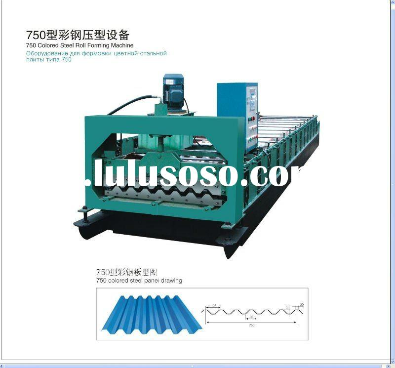 Top quality sheet metal folding cold forming machine