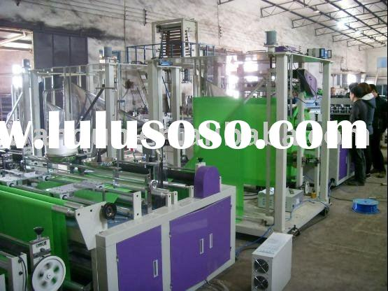 Ultrasonic nonwoven bag machine