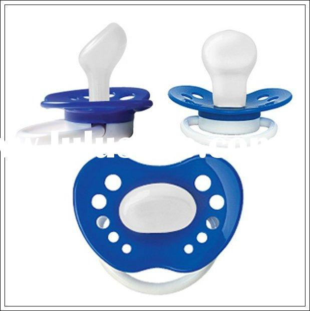 Various design food grade silicone baby pacifier