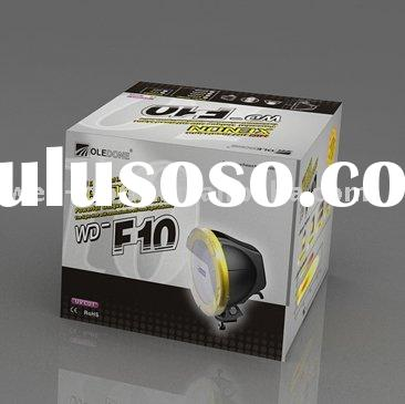 Vehicle HID driving light, 4x4 HID off road light, WD-F10, IP rate 68! UV stabilized!