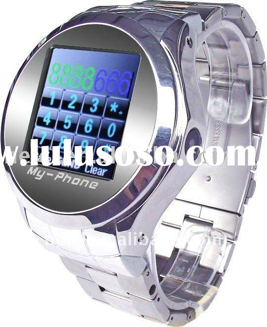 Watch Phone with Bluetooth MP3/MP4 Multi language wrist cell watch phone