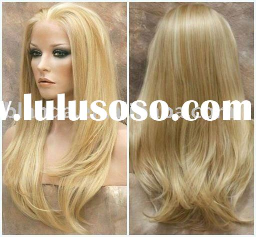 Wholesale indian remy human hair full lace wigs