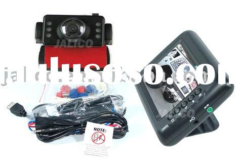 """Wireless Car Backup Rear View Camera System with 3.5"""" Color LCD"""