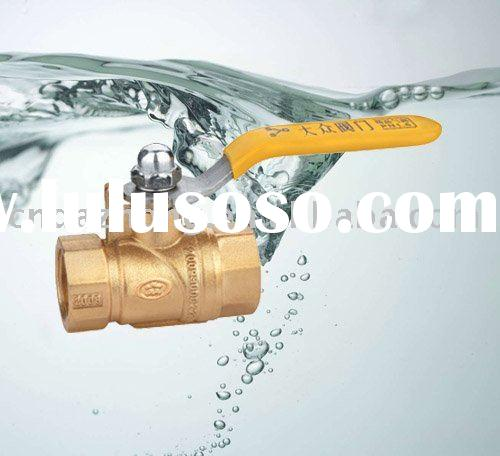 ZZ109 Brass Panel Mount Ball Valve