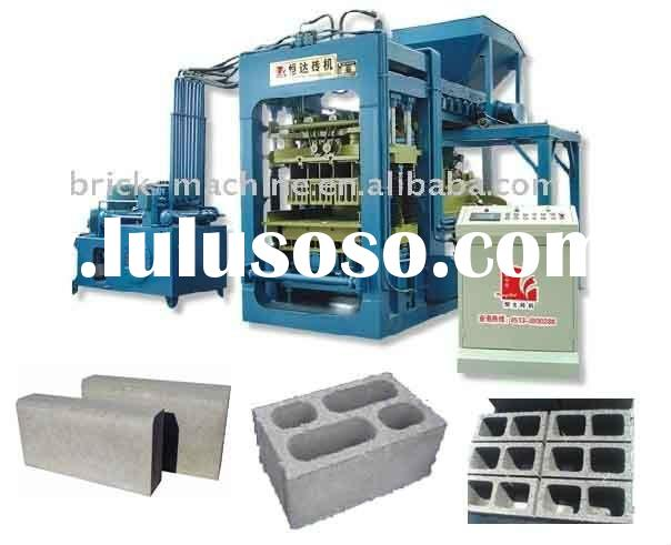 (Hot Sale)automatic QT6-15 concrete block making machine