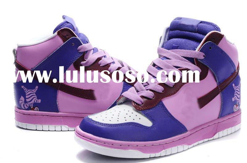 accept paypal,hot selling wholesale branded high top sports shoes