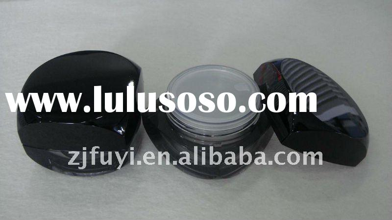 acrylic face cream container for cosmetics