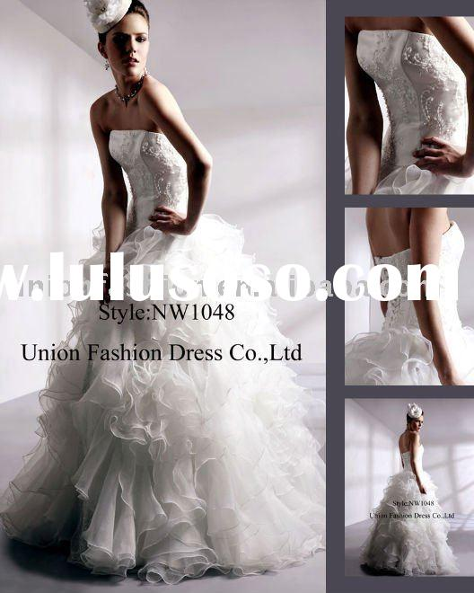 ball gown wedding dresses 2011 unique NW1048-5